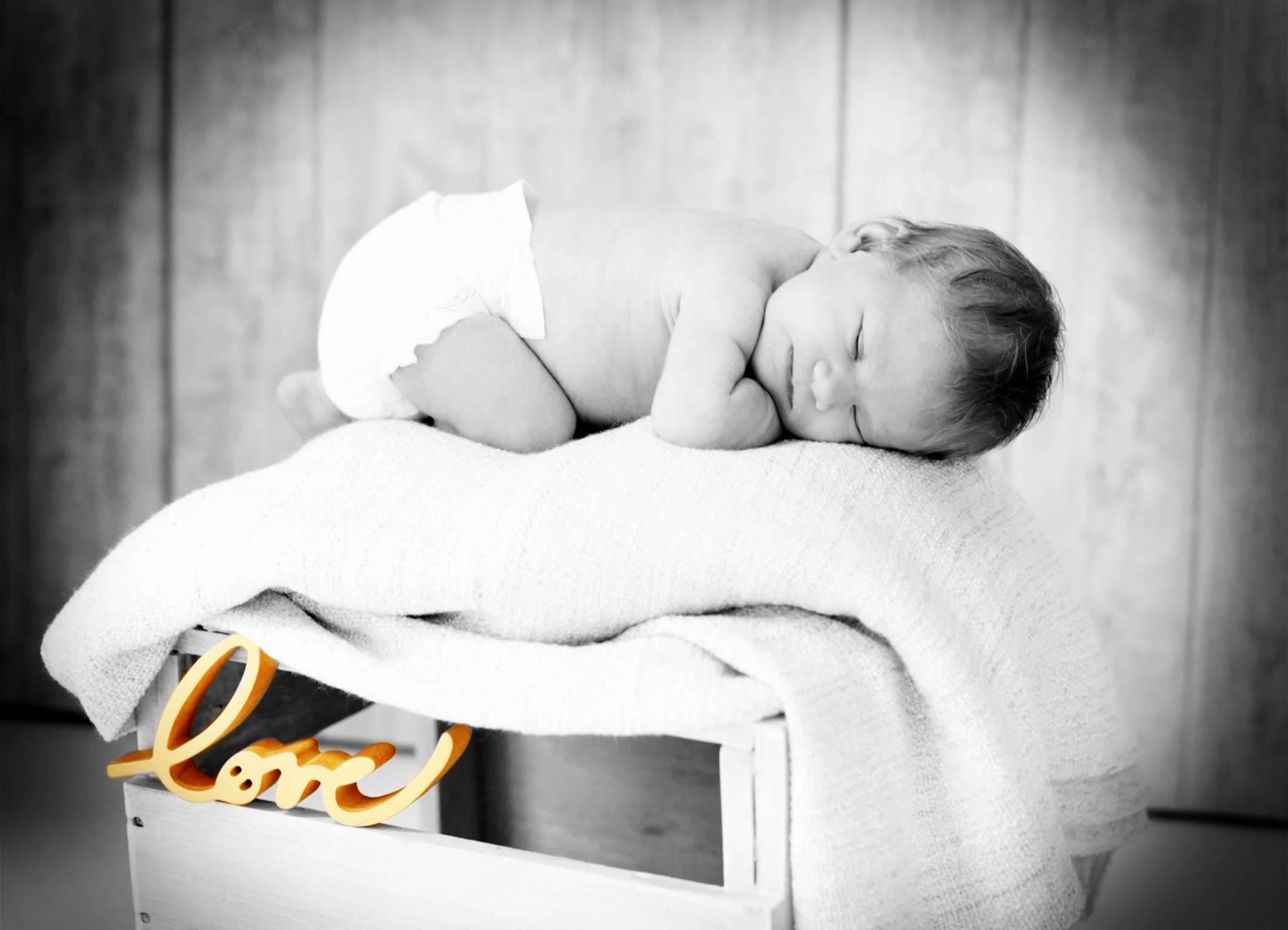 Newbornbilder mit viel Liebe