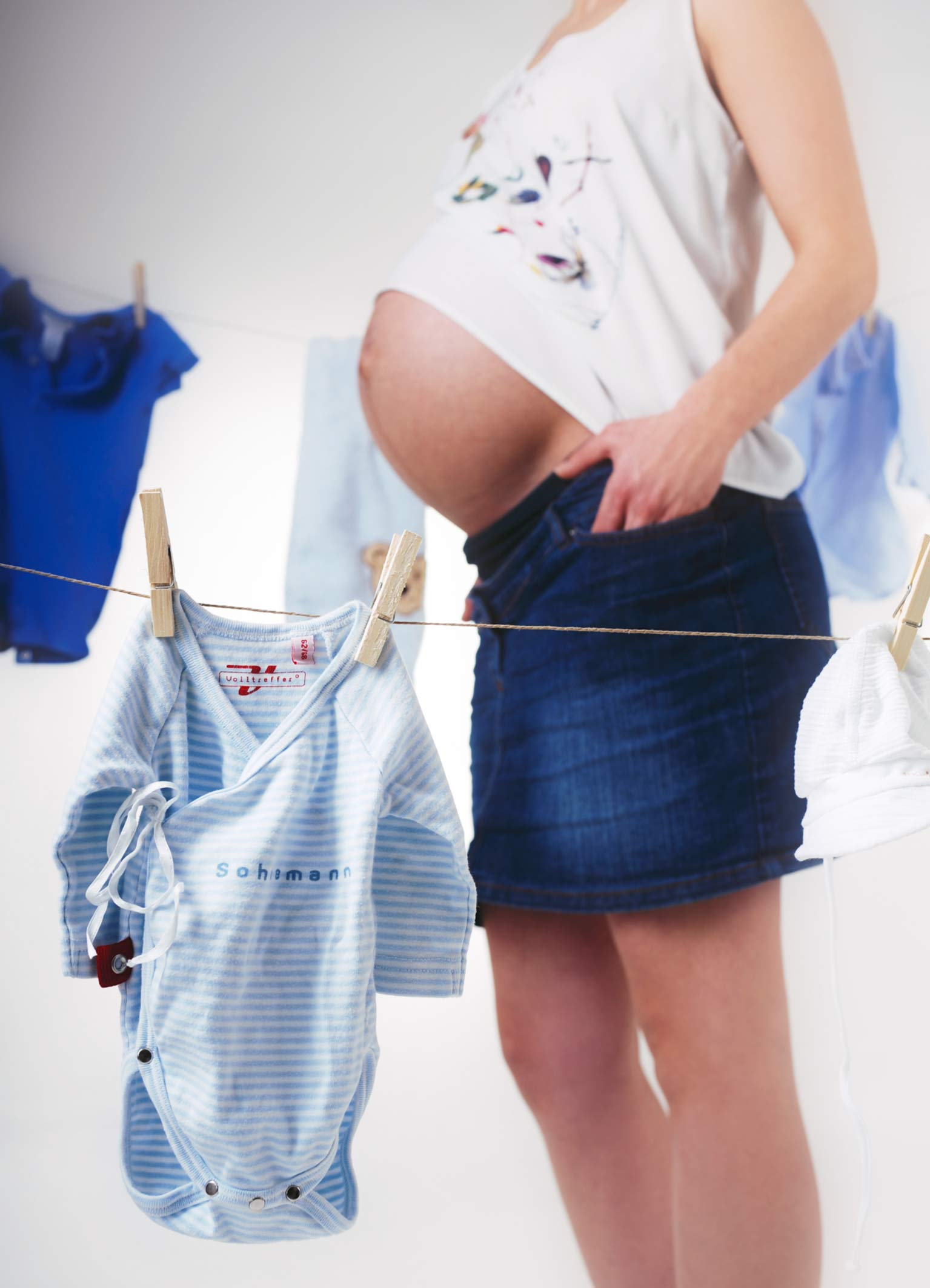 liebevolle Babybauchshootings
