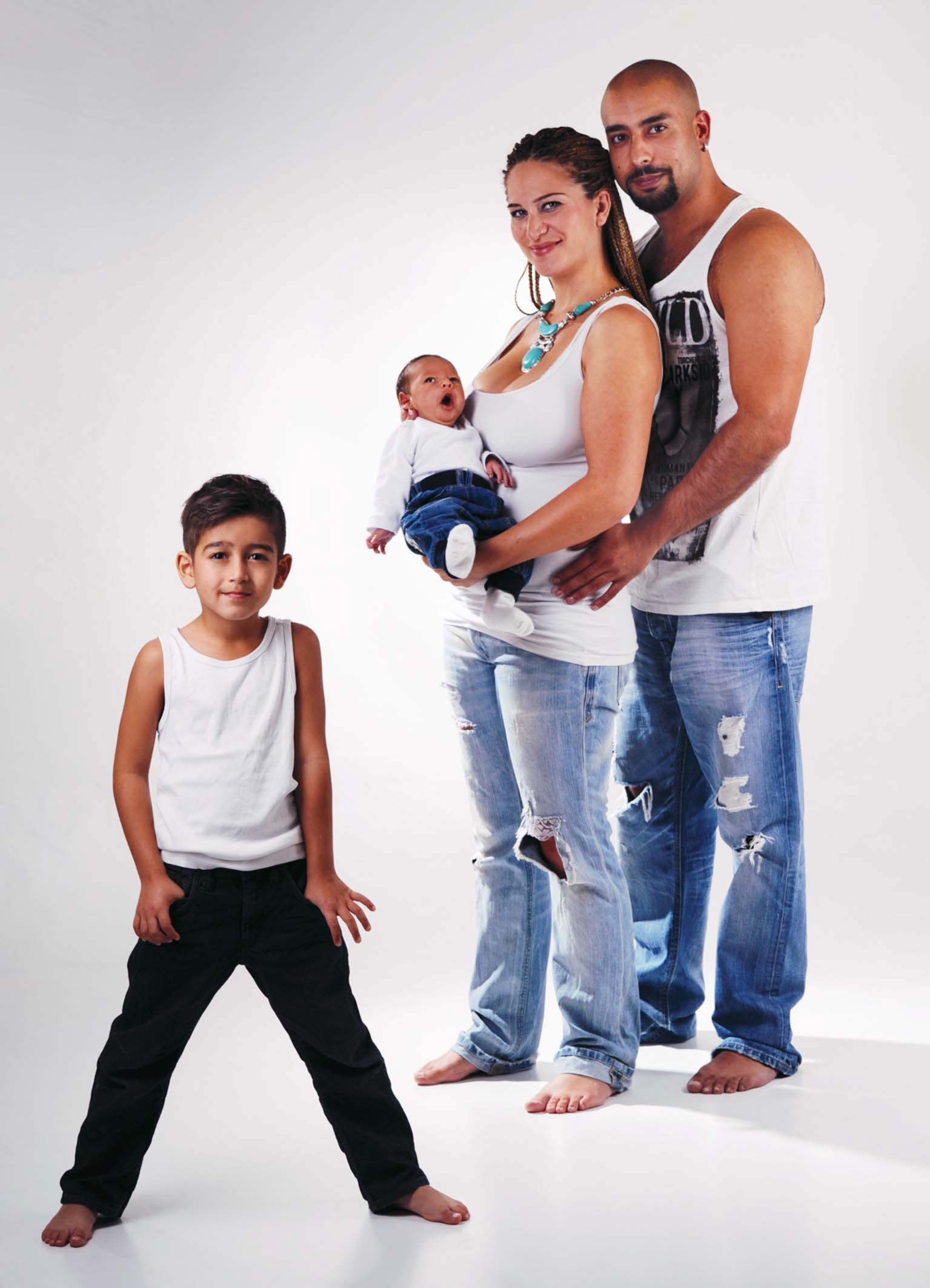 Familienbilder mit Baby