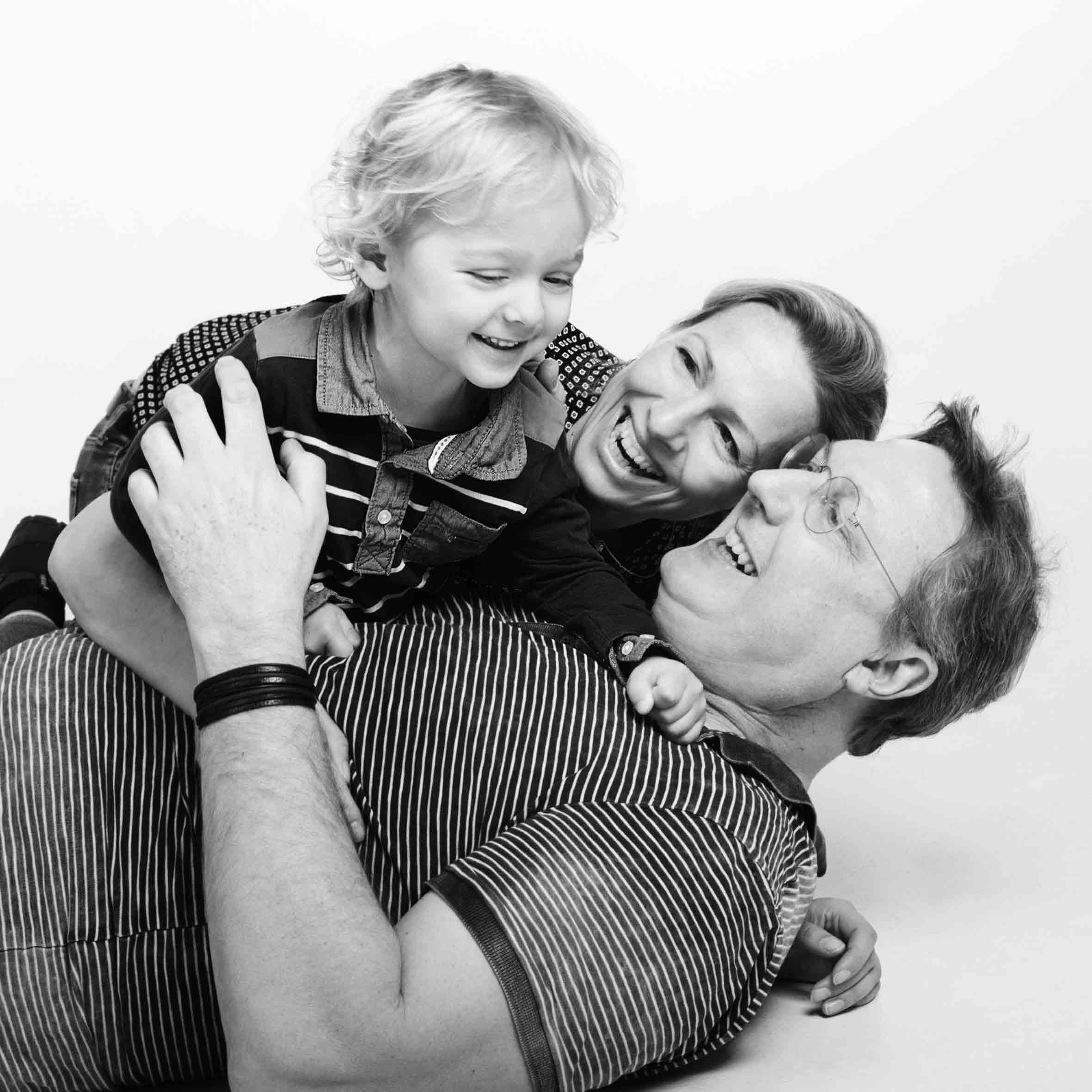 Familienbilder voller Liebe