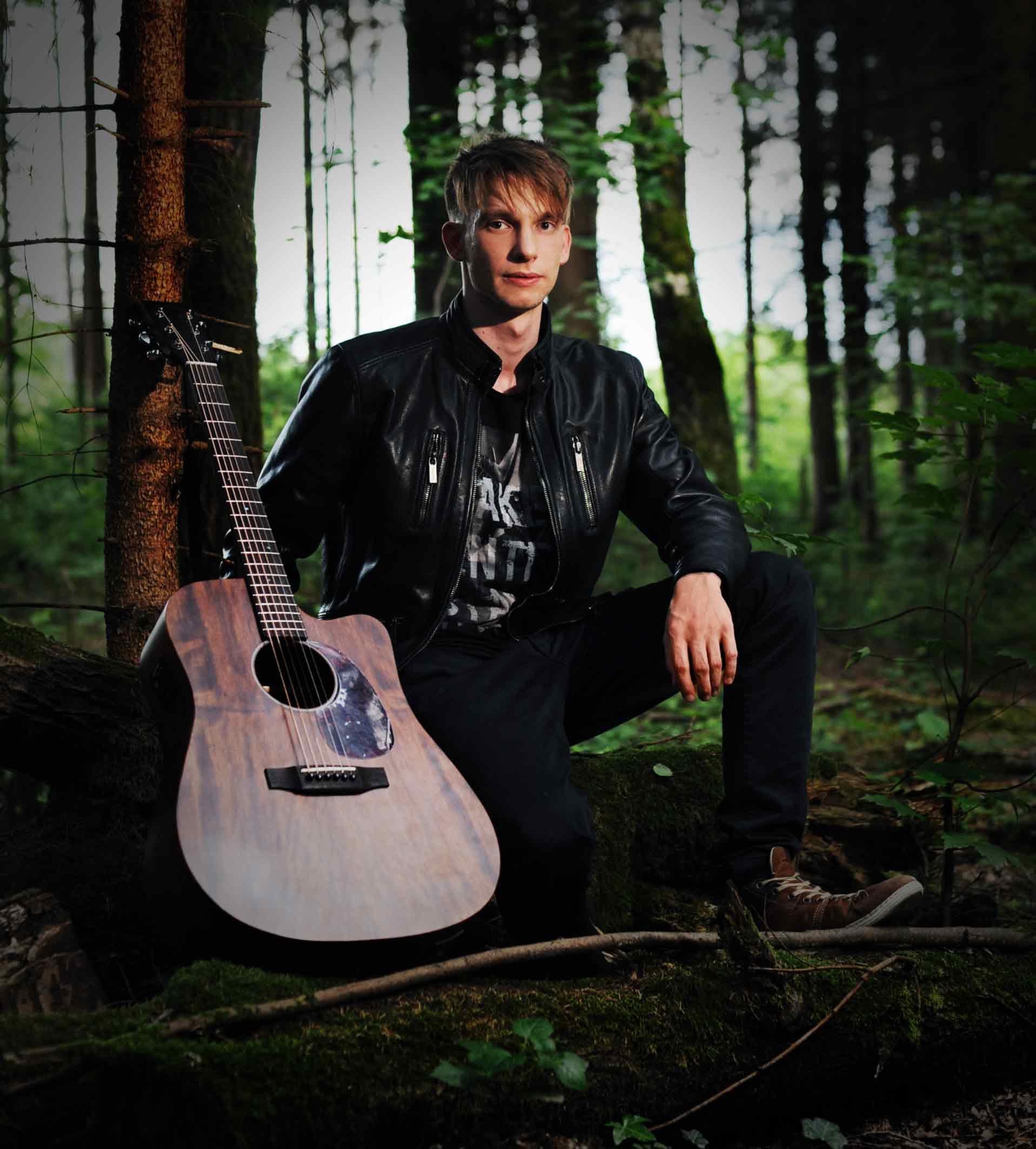 Musikerbild im Truderinger Wald
